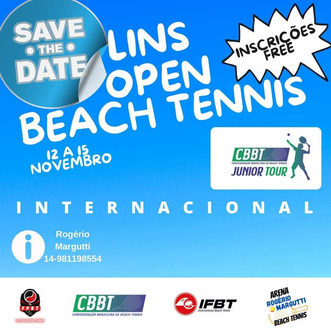 Lins Open de Beach Tennis - JUNIORS