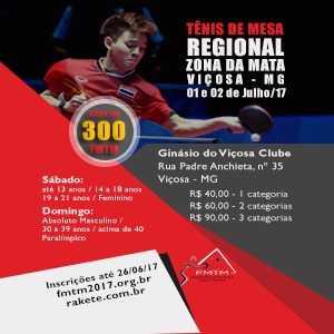 REGIONAL ZONA DA MATA 2017