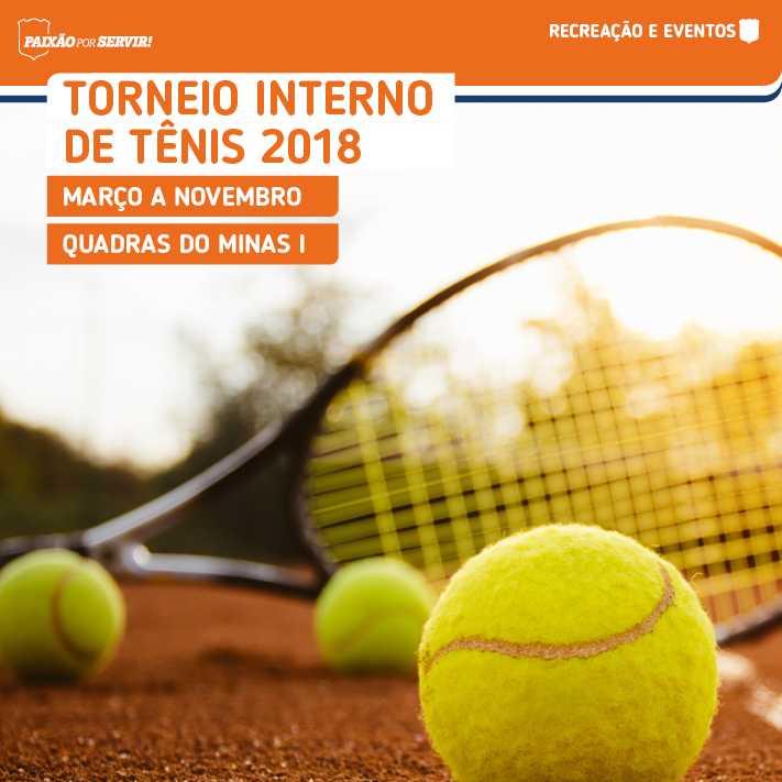 Torneio Interno de Tênis Minas Tênis Clube 2018