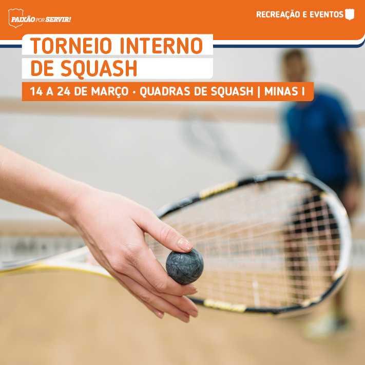 Torneio Interno de Squash Minas Tênis Clube 2018/1
