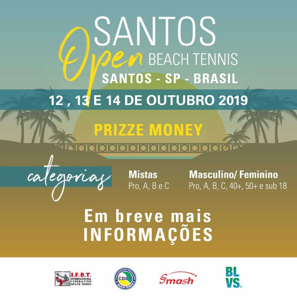 SANTOS OPEN DE BEACH TENNIS