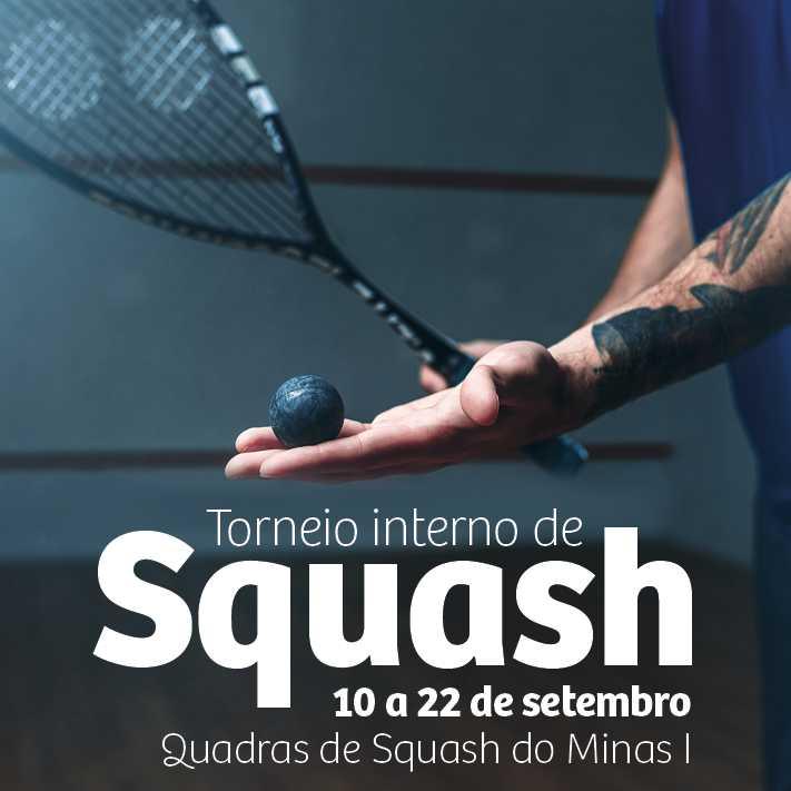 Torneio Interno de Squash Minas Tênis Clube - 2018/2