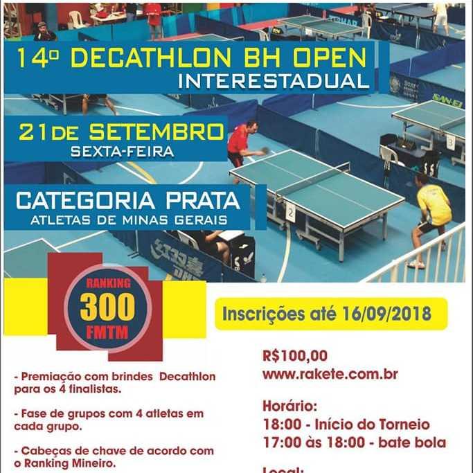 14° Decathlon BH Open Interestadual