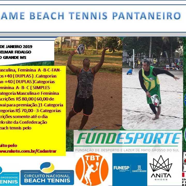 9º GAME BEACH TENNIS PANTANEIRO