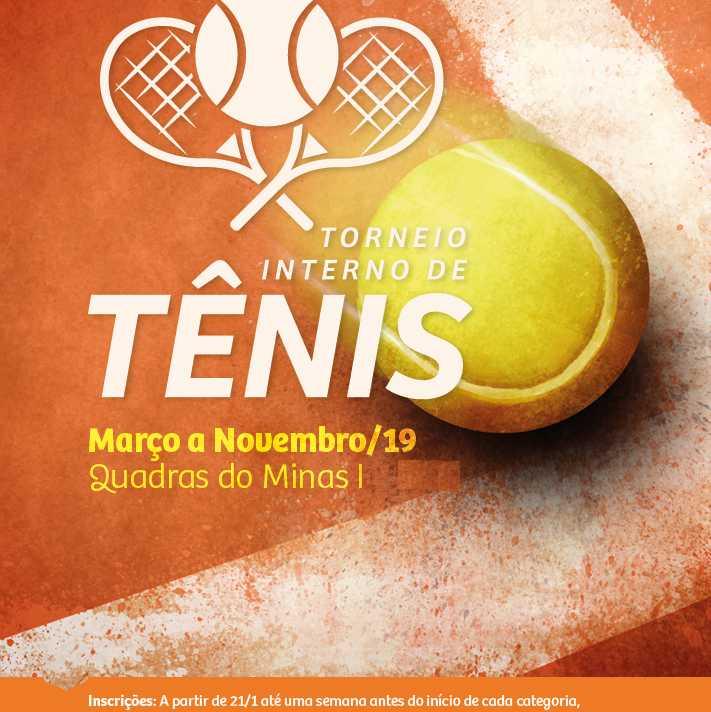 Torneio Interno de Tênis 2019 - Minas Tênis Clube