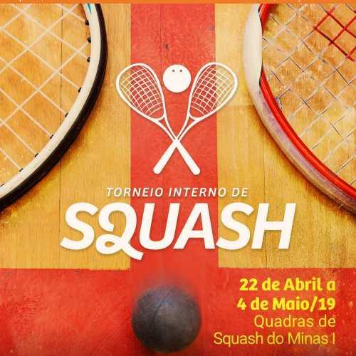 Torneio Interno de Squash 2019/1 - Minas Tênis Clube