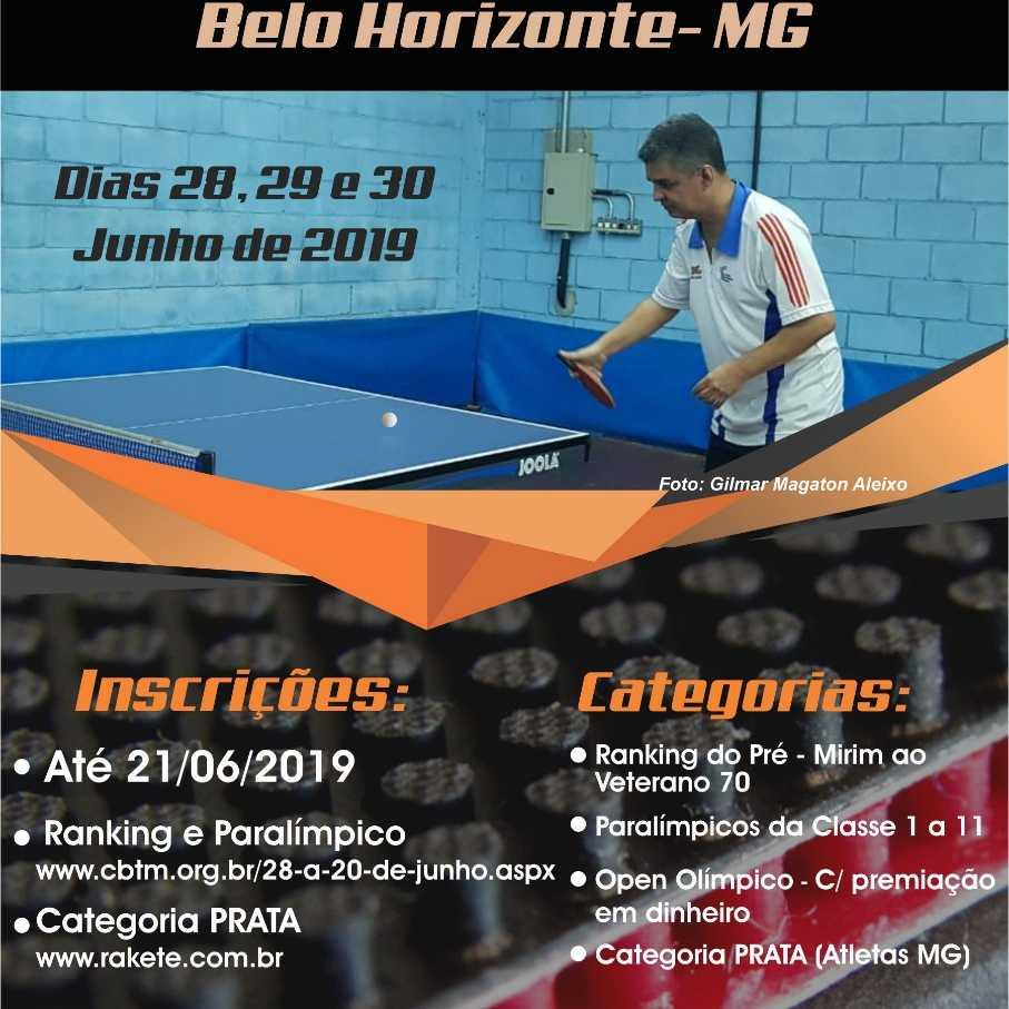 Copa Das Federações De Tênis de Mesa - ETAPA MINAS GERAIS - Selo 300