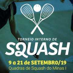 Torneio Interno de Squash 2019/2 - Minas Tênis Clube
