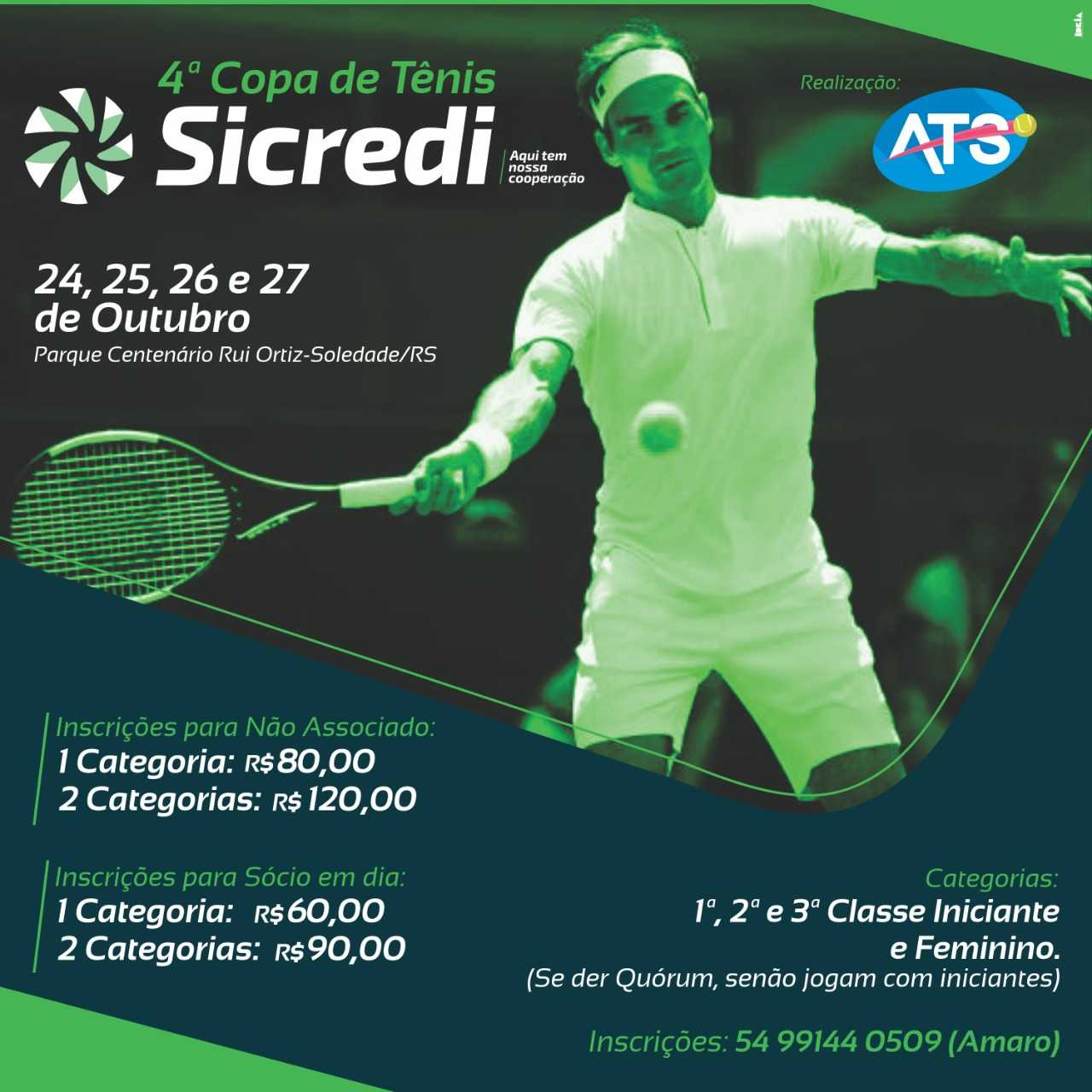 4ª Copa de Tênis SICREDI