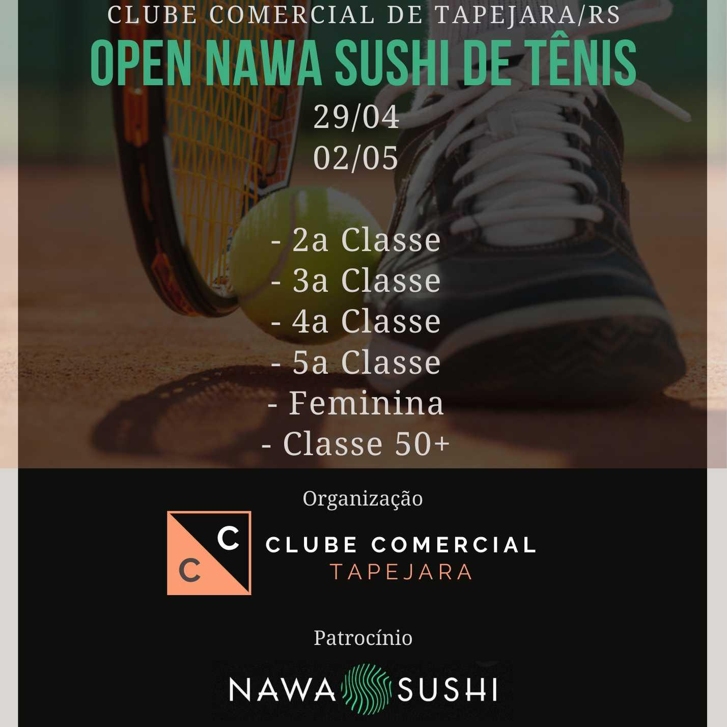 Open Nawa Sushi de Tênis